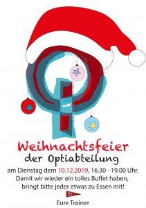 Opti-Weihnachtsfeier